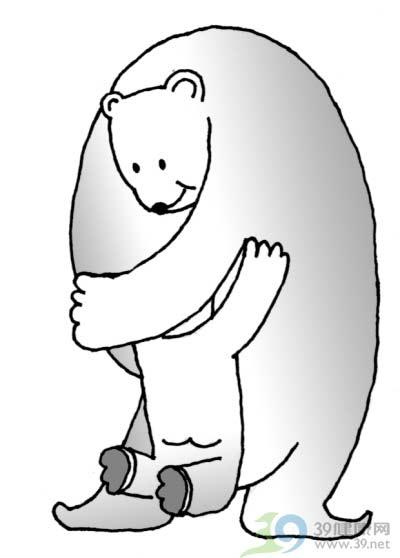 儿童学画画熊大