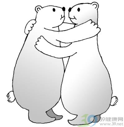 """孩子受委屈,给个""""熊抱"""""""