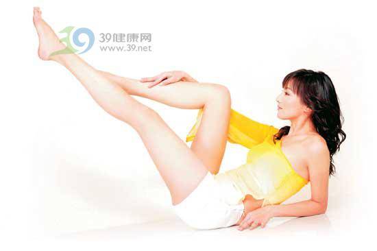 美女名模教你美腿操 39健康网